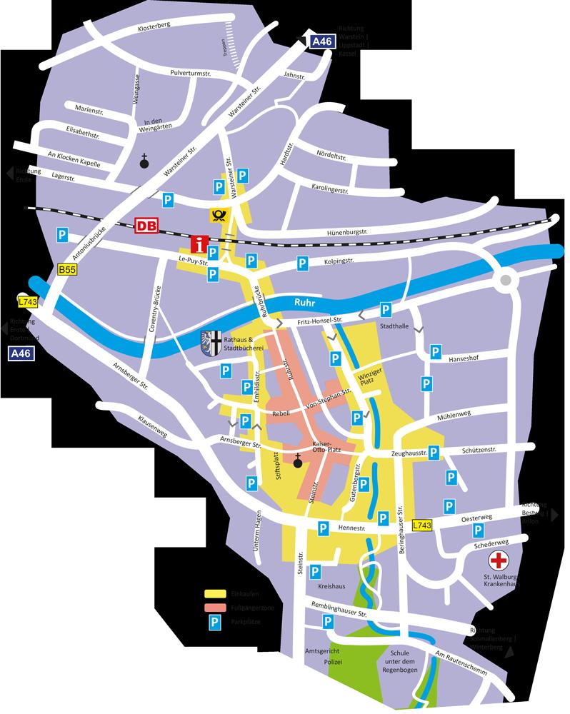 Parken in Meschede