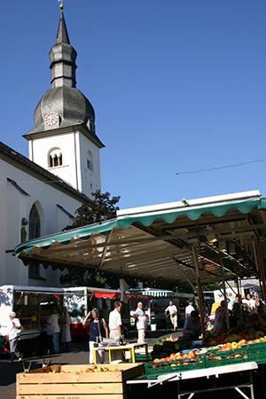 Wochenmarkt in Meschede